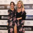 Camila Coelho e Giovanna Ewbank usaram looks com mesma estampa na estreia da blogueira como estilista da Riachuelo