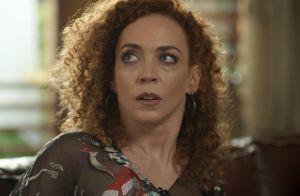 Novela 'Rock Story': Laila arma para separar Eva de Gordo, mas é desmascarada