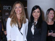 Grazi Massafera, Fátima Bernardes e mais famosos vão a lançamento de livro.Fotos