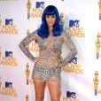 Katy Perry usou micro vestido  de tule coberto de cristais Zuhair Murad  no MTV Movie Awards 2010