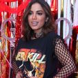 'Antes de julho não vem projeto em português', disse Anitta