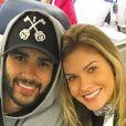 Andressa Suita afirmou que o marido, Gusttavo Lima, está mais próximo dela depois da gravidez: 'Ele tem voltado mais para casa agora depois dos shows'