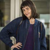 Valentina Herszage conta truque para papel mais jovem em novela: 'Cortei franja'