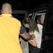 Lívian Aragão visita o pai, Renato Aragão, internado com crise hipertensiva