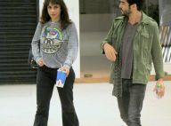Maria Ribeiro e Caio Blat vão juntos ao cinema após rumores de separação
