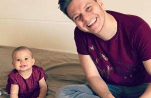 Michel Teló exibe reação da filha, Melinda, à nova música: 'Amou'. Vídeo!