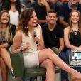 A apresentadora Monica Iozzi apagou suas contas nas redes sociais