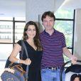 Ticiana Villas Boas e Joesley Batista estão casados desde 2012 e são pais de Joesley Filho