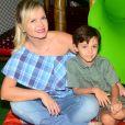 Eliana já é mãe de Arthur, de 5 anos