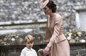Choro de Príncipe George em casamento foi por vestido de noiva de tia. Entenda!