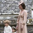 Príncipe George chorou no casamento da tia, Peppa Middleton, após levar bronca da mãe