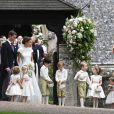 Príncipe George foi um dos pajens do casamento de Pipa Middleton
