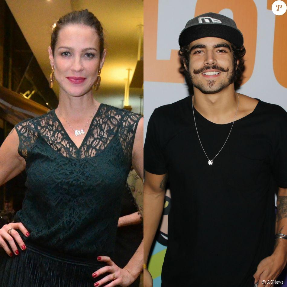 Luana Piovani e Caio Castro serão mãe e filho na novela 'O Sétimo Guardião'. O ator é apenas 12 anos mais novo que a atriz
