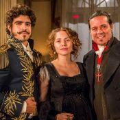 Novela 'Novo Mundo': Dom Pedro fica com ciúmes de Leopoldina com Bonifácio