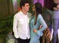 Ex-BBB Vivian curte aniversário do sobrinho com Manoel: 'Matar saudade'. Fotos!