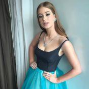 Marina Ruy Barbosa usa look Prada e exibe joias poderosas em Festival de Cannes