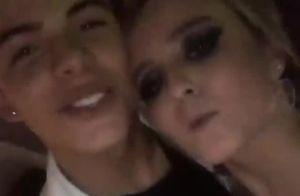 Larissa Manoela, com Thomaz Costa, reencontra João Guilherme em festa. Vídeo!