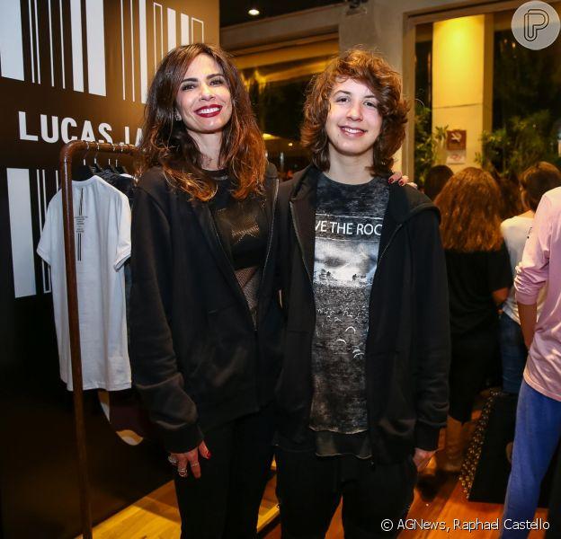Lucas Jagger lançou sua primeira coleção de roupas neste sábado, 27 de maio de 2017