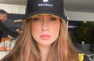 Marina Ruy Barbosa assiste Grande Prêmio de Fórmula 1 em Mônaco: 'Airdropando'