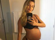 Grávida de um menino, Andressa Suita exibe barriga em foto de biquíni: '8 meses'