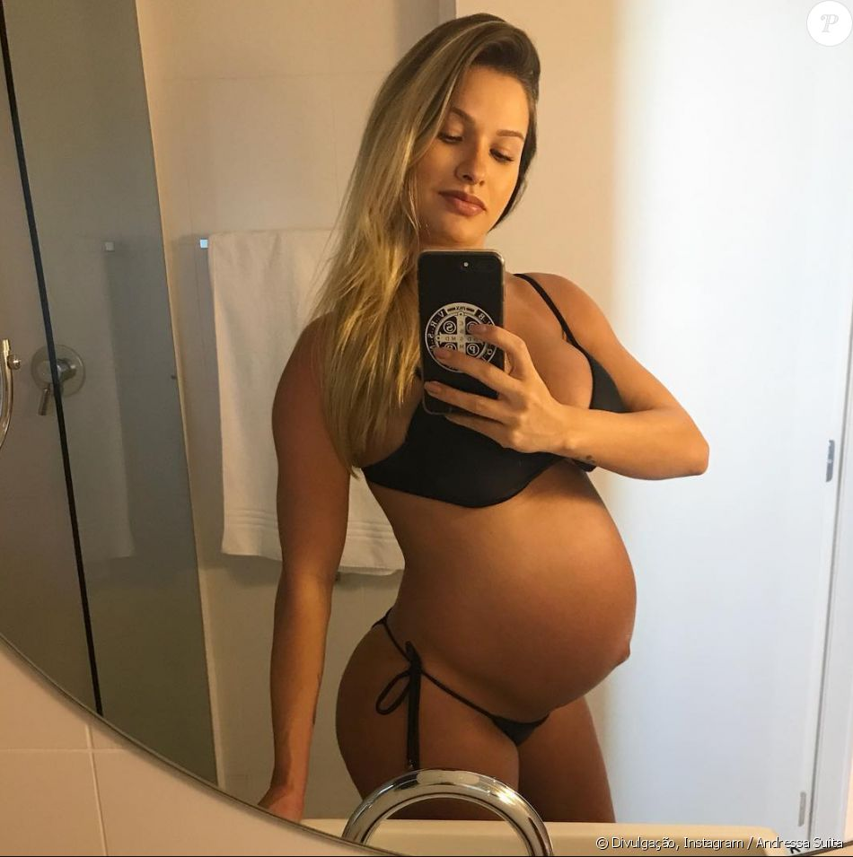 6 months pregnant wife 2
