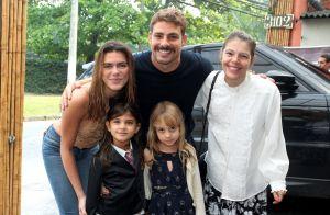 Grazi Massafera e a filha, Sofia, posam com bigodes de gato: 'Nossa maquiadora'
