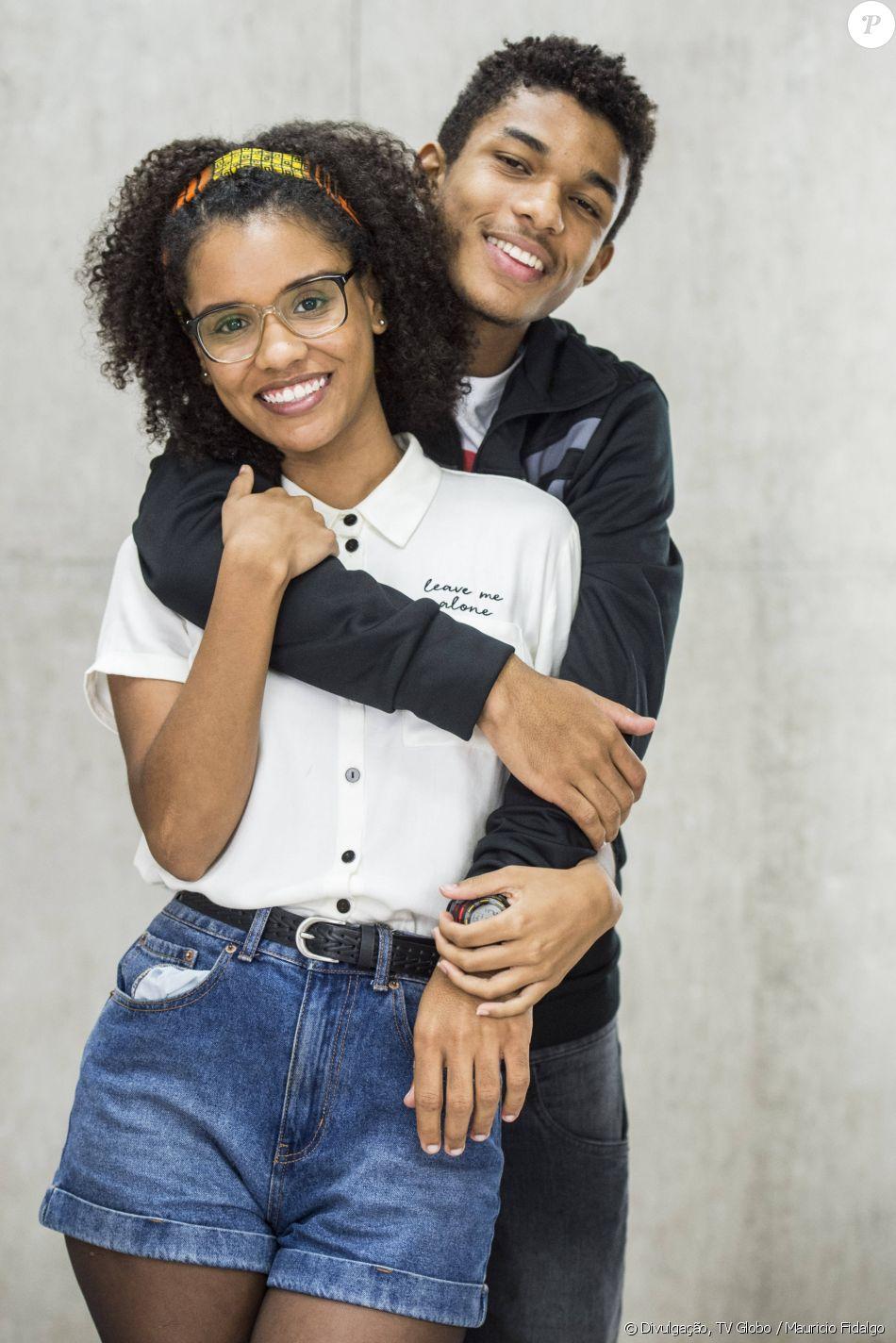 Os irmãos Ellen (Heslaine Vieira) e Anderson (Juan Paiva) vão sofrer com preconceito por parte de Mitsuko (Lina Agifu) em 'Malhação - Viva a Diferença'
