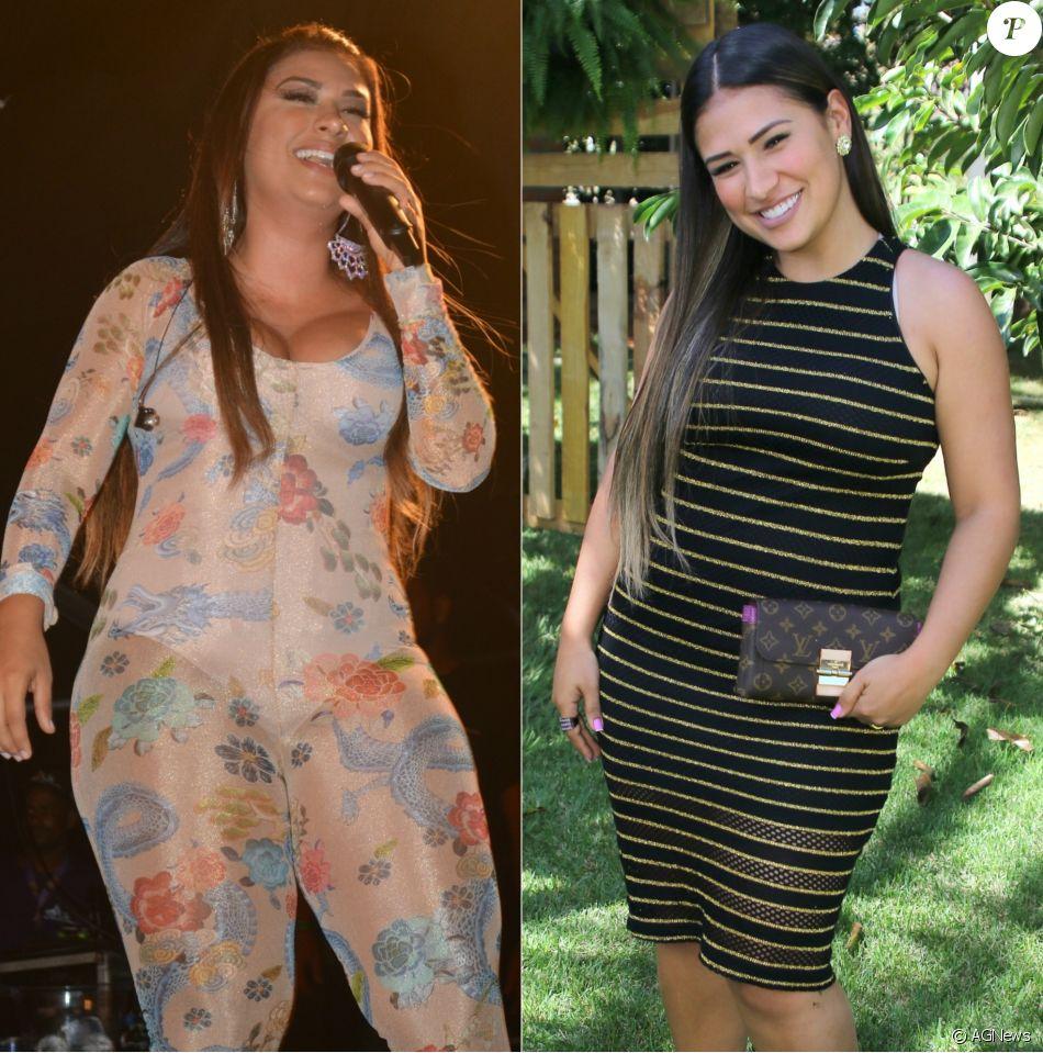 Dupla com Simaria, Simone  mudou o manequim em 14 dias  após iniciar dieta
