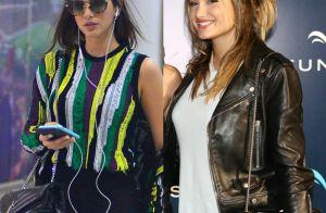 e6a01f0bb4e0a Bruna Marquezine repete bolsa de R  6 mil usada por Sasha Meneghel em show