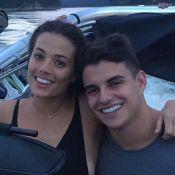 Ex-BBB Antônio acaba romance com Alyson e apaga fotos com ela: 'Amizade'