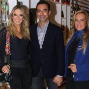 Cesar Tralli elogia mãe de Ticiane Pinheiro na web: 'Herança genética abençoada'