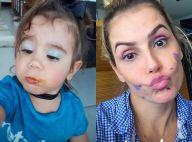 Deborah Secco se compara à filha em foto e ex-BBB Emilly elogia: 'Maravilhosas'
