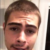 Rafael Vitti mostra novo corte de cabelo após fim de gravação de novela. Vídeo!