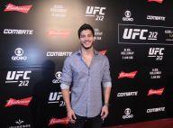 Arthur Aguiar e Débora Nascimento marcam presença no UFC, no Rio de Janeiro