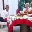Em maio, Taís Araújo tomou café da manhã com Ana Maria Braga e não aceitou provar uma receita feita com abóbora
