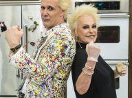 Ana Maria Braga e Supla na TV agitam a web e semelhança vira piada: 'Gêmeos'
