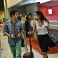 """Deborah Secco e Bruno Torres se conheceram durante as filmagens do filme """"A Estrada do Diabo""""."""