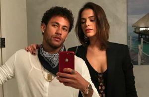 Bruna Marquezine e Neymar se divertem em jantar com amigos em LA: 'Rolê'. Vídeo!