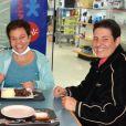 Claudia Rodrigues recebeu a notícia do sucesso do seu transplante nesta quarta-feira, 7 de junho de 2017, quando completou 46 anos
