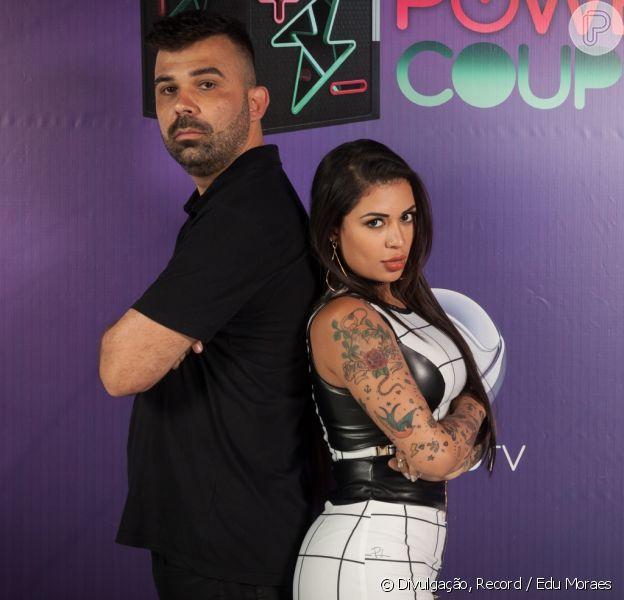 No 'Power Couple',atitudes machistas e gordofóbicas de marido de MC Marcelly, Frank, irritam web