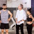 No 'Power Couple', Frank, e mpresário e marido de MC Marcelly exigiu que ela malhasse após escapar da dieta: 'Tem que me respeitar'