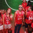 Cris Dias e Thiago Rodrigues negaram que estavam separados no final do ano passado