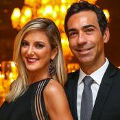 Cesar Tralli e Ticiane Pinheiro anunciam noivado e casal vibra na web: 'Te amo'