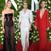 Preto, branco e vermelho invadem looks das famosas no Tony Awards 2017. Fotos!