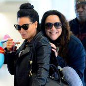 Letícia Lima, junto à namorada, Ana Carolina, admite preconceito: 'Sofro muito'