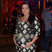 Thais Fersoza se irrita ao ouvir que está enorme na gravidez:'A barriga, não eu'