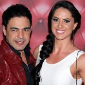 Zezé Di Camargo diz que filhos aprovaram noivado com Graciele Lacerda: 'Cientes'