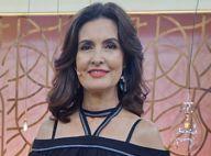 Fátima Bernardes rompe chão em truque na TV e diverte web: 'Chegou chegando'