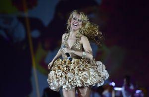 Joelma leva namorado, Alessandro Cavalcante, para show no Pará. Veja vídeo!