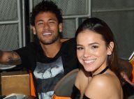 Fã flagra beijo de Bruna Marquezine e Neymar em boate: 'Casal maravilhoso'. Foto